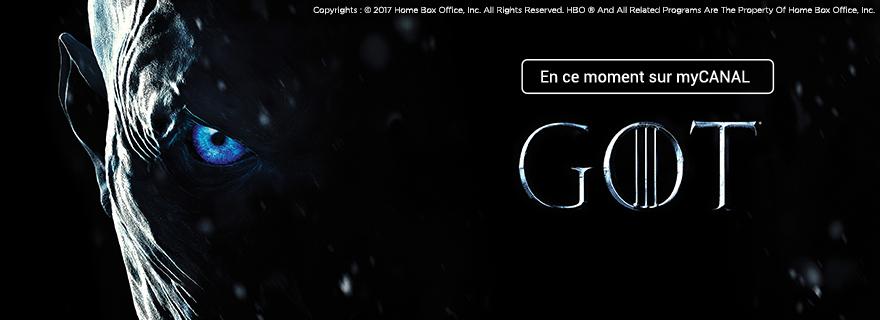 Game of Thrones en ce moment sur myCanal